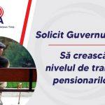 Dobra: Pensionarii din Timiș, umiliți (încă o dată) de actualii guvernanți