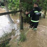 Posibile inundații pe mai multe râuri din vestul țării