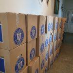 Pachetele cu alimente, livrate primăriilor din Timiş