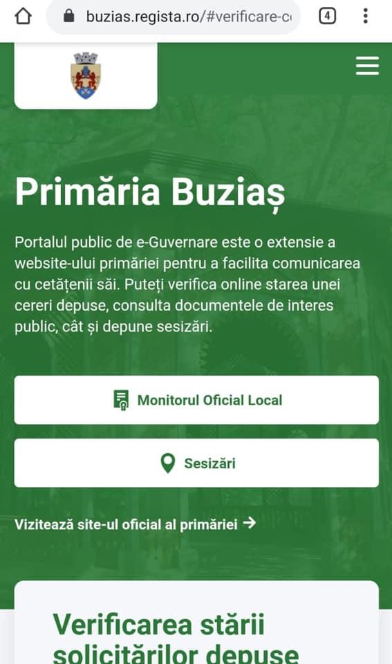 Comunicare promptă cu cetățenii la Buziaş