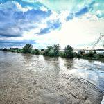 Pompierii au reuşit să prevină inundaţiile la Uliuc
