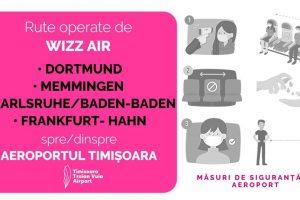 Traficul aerian spre Germania, reluat de pe Aeroportul Internaţional Timişoara