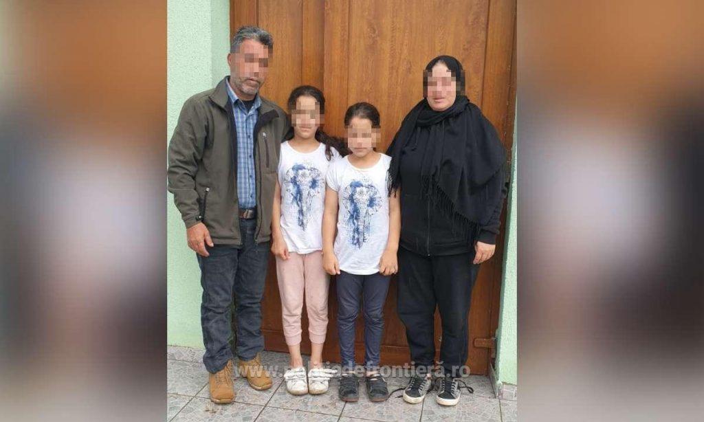 O familie din Siria a încercat să intre ilegal în România
