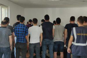 22 de străini depistați ilegal în Timișoara