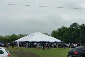 Amenzi pentru participanții la un botez în Ghiroda