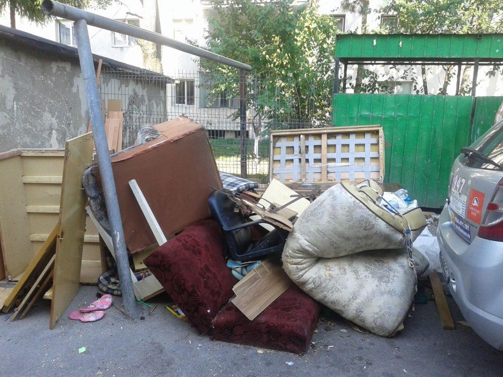 Campanie trimestrială de  colectare a deşeurilor voluminoase în zona 1 Timiș