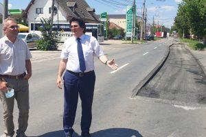 A început modernizarea și extinderea la 4 benzi a străzii Mareșal C-tin Prezan (Lidia)-Venus