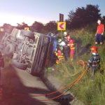 Două accidente au avut loc, luni dimineaţă, în Caraș-Severin