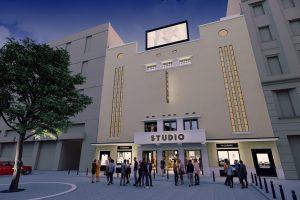 Proiectul pentru renovarea Cinematografului Studio a fost donat Primăriei de o firmă de asigurări