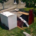 Se colectează deşeurile voluminoase și periculoase din mai multe localităţi timişene