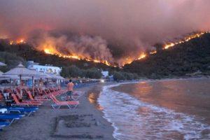 Atenţionare de călătorie pentru Grecia! Gradul de alertă rămâne ridicat din cauza incendiilor