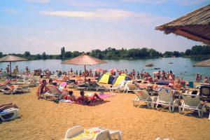 Lacul Ghioroc, stațiune turistică de interes local