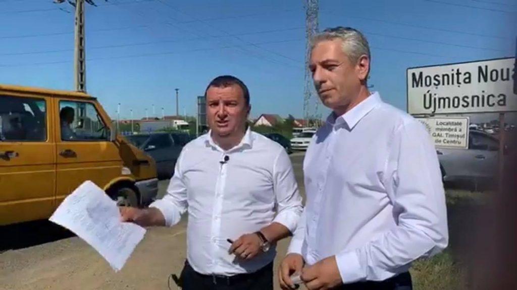 S-a semnat contractul pentru începerea lucrărilor de lărgire la patru benzi a drumului Timișoara – Moșnița Nouă