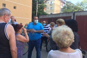 Candidatul Pro România la Primăria Timişoara, Marius Craina, a avut primele întâlniri cu alegătorii