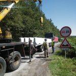 De luni, vehiculele de mare tonaj care nu transportă persoane sau animale nu mai au voie pe sectorul Margina – Holdea