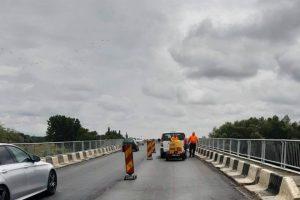 Atenţie, şoferi! Se lucrează la podul din Şag
