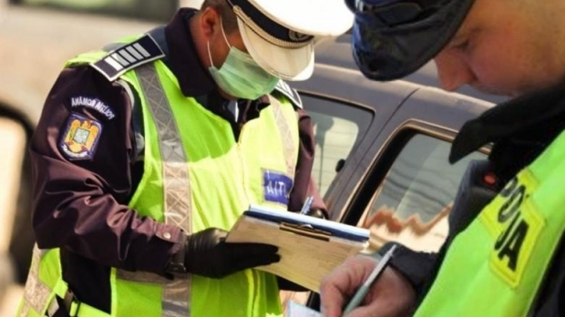Tânăr prins drogat la volan și cu permisul suspendat, după ce a fost urmărit de Rutieră