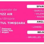 Se reia treptat traficul aerian spre/dinspre Spania, Anglia și Belgia de pe Aeroportul Internațional Timișoara