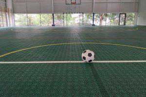 Bază sportivă construită la Sânnicolau Mare, printr-un proiect finanțat de CNI