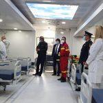 Marcel Vela a venit la unitatea mobilă de Terapie Intensivă a Inspectoratului pentru Situații de Urgență