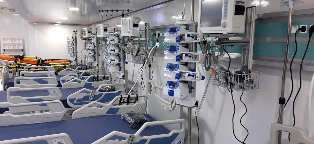 La Spitalul Municipal va ajunge unitatea mobilă ATI cu 12 paturi
