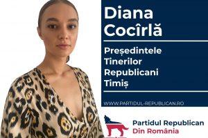 Echipa tinerilor republicani din Timiș este condusă de o olimpică națională și o finalistă Miss Univers