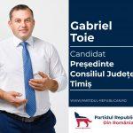 Republicanii din Timiș și-au desemnat candidatul la Consiliul Județean