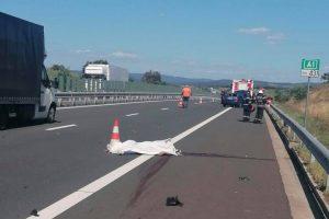 Accident mortal pe autostradă, între Timişoara şi Margina