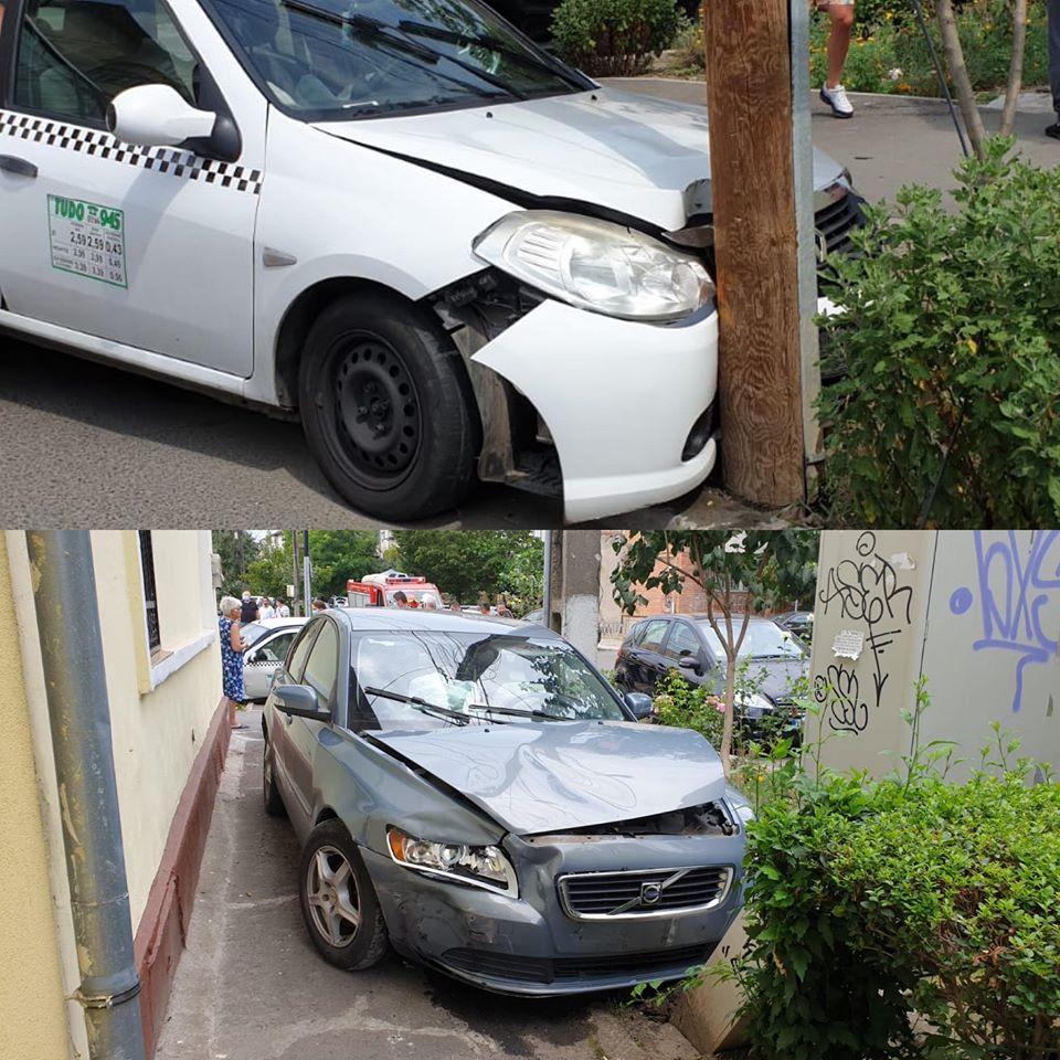 O persoană a ajuns la spital în urma unui accident care a avut loc în zona Modern