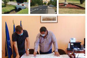 Una dintre cele mai noi localități din Timiș, Șandra, a cunoscut o dezvoltare intensă/VIDEO