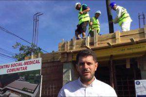 Construcţia centrului medical cu fonduri europene din Şag avansează