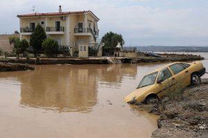 Inundații devastatoare pe insula Evia: cel puțin 7 morți