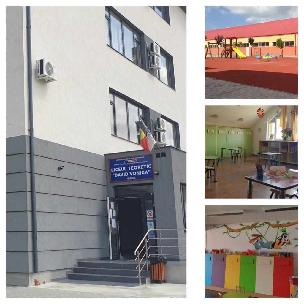 Educația, o prioritate majoră pentru autoritățile din comuna Giroc/VIDEO
