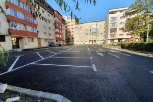 S-a finalizat ultima parcare între blocuri în cartierul Soarelui