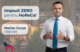 Cucşa: Impozit 0 pentru Horeca. Este măsura care ar putea salva industria, aflată în cădere liberă
