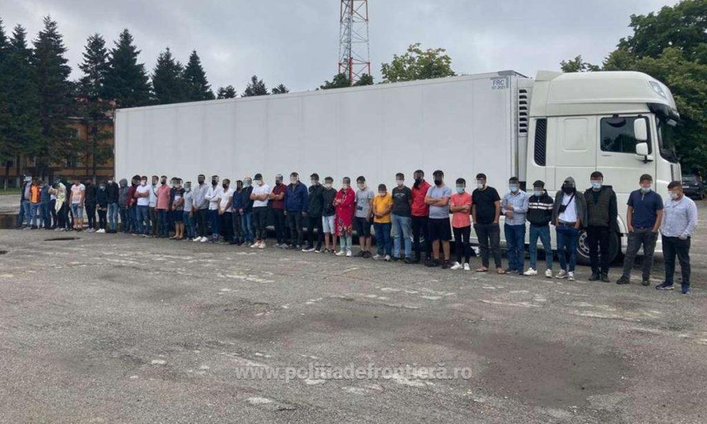 44 migranţi depistaţi de poliţiştii de frontieră timişeni