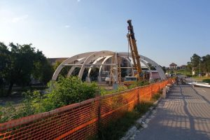 Piaţa agroalimentară din Buziaş prinde contur