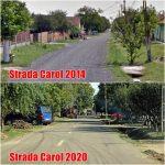 Se lucrează intens pe străzile din Giarmata