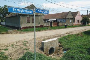 Primăria Recaş asfaltează străzile din Bazoșu Vechi