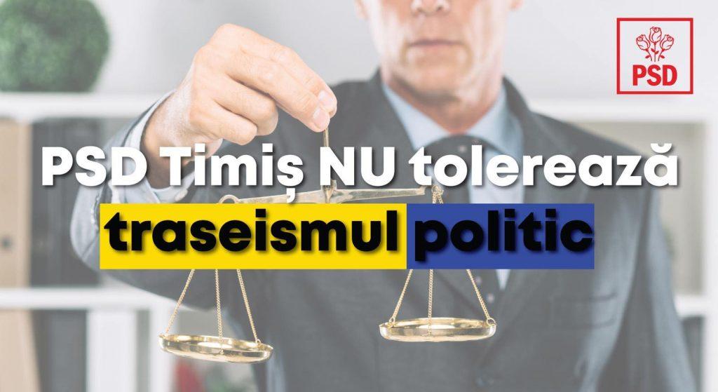 PSD: Prefectul de Timiș Liliana Oneț, partizanat politic cu traseiștii politici