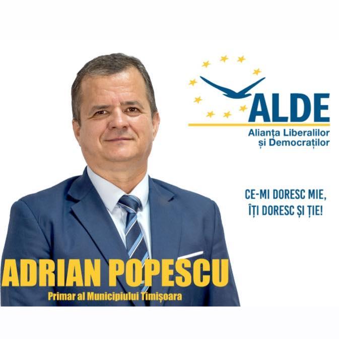 Adrian Popescu, candidatul ALDE la Primăria Timișoara, apel către contracandidați