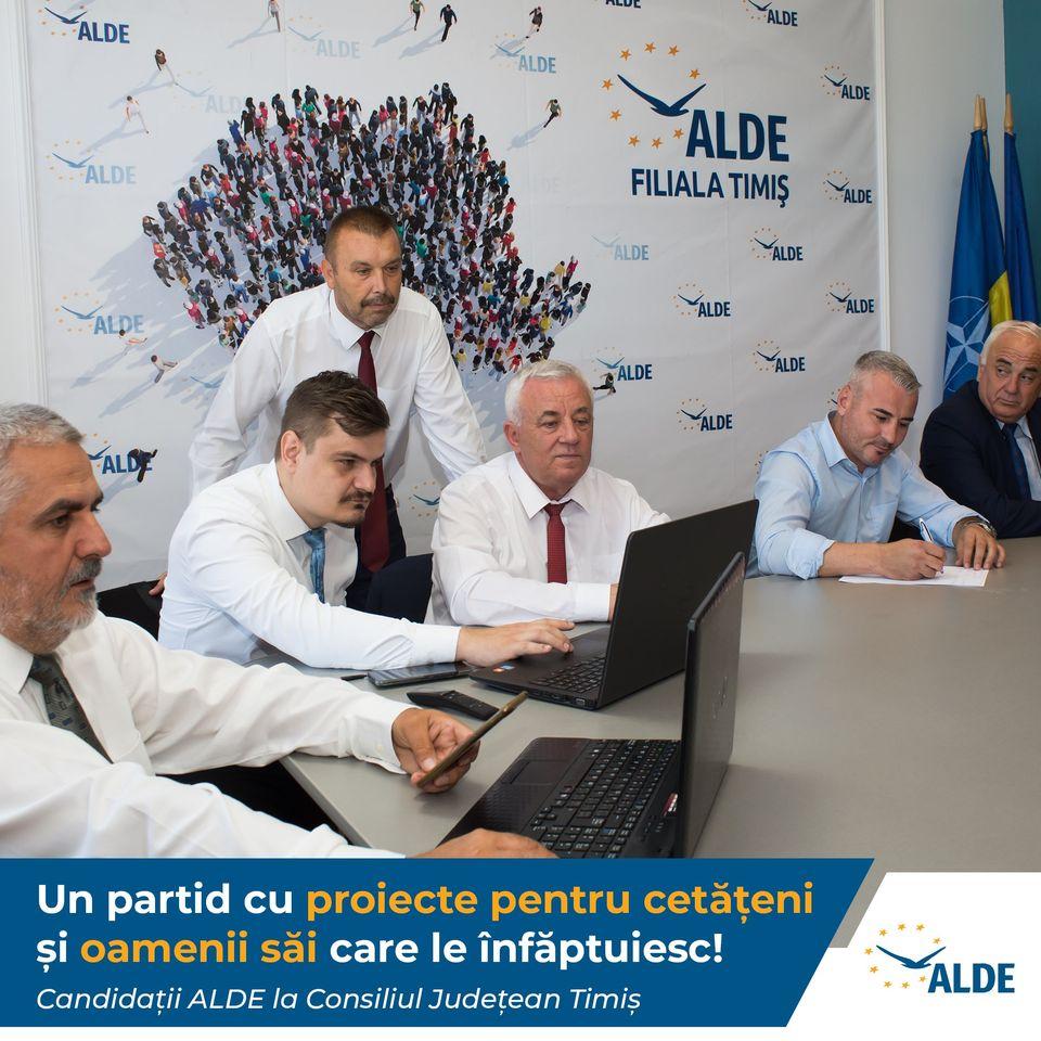 Candidații ALDE la CJ Timiș: Soluționarea nevoilor unei comunități nu se tranzacționează politic (P)
