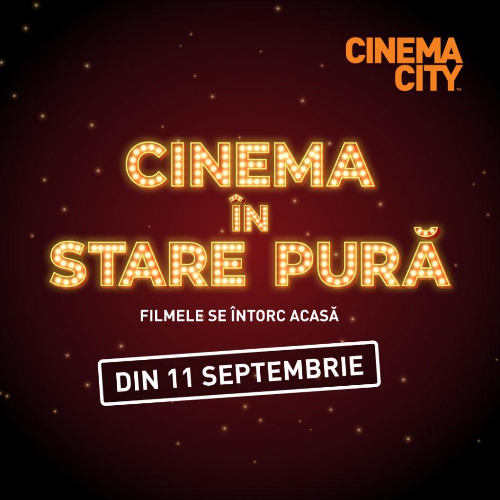 Cinema City deschide peste 230 săli de cinema în toată ţara din 11 septembrie