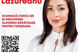 Voichița Lăzureanu – Alegerea sănătoasă pentru Timișoara (P)