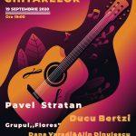Pavel Stratan şi Ducu Bertzi participă la Seara Chitarelor