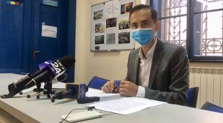 Alin Nica depune vineri jurământul în calitate de președinte al CJT