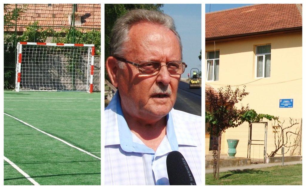 Infrastructura de apă-canal și drumuri în Voiteg, printre cele mai importante investiții ale primarului Tudor Marinescu (P)