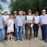 Marian Coandă şi echipa ALDE, în vizită la Lovrin (P)