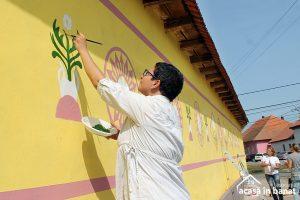 Color the Village la Ilidia: start celui mai frumos eveniment caritabil