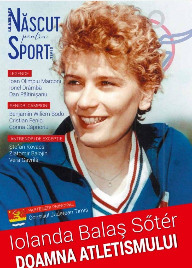 Se lansează revista Născut pentru sport Timiș
